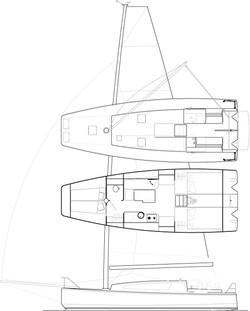 Kobe 32' Cat-boat