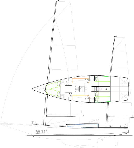 W41' Cat-ketch
