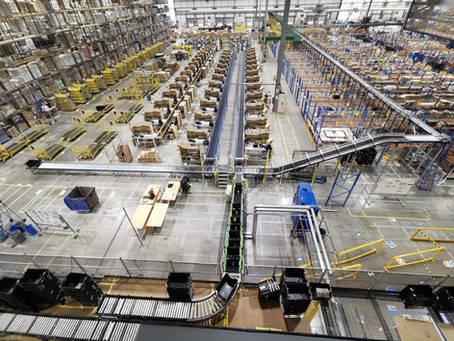 Five ways to increase your warehouse efficiency.