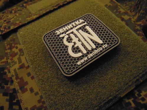 Zenit Velcro Patch DARK