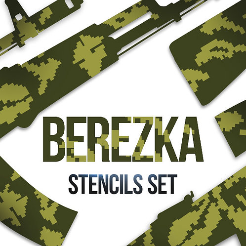 Landscape Berezka (KLMK) Paint Stencil Package
