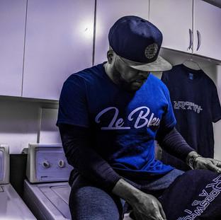 Le Bleu T-Shirt by DJ Rocswell