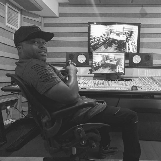 DJ Rocswell OCL Recording studio B