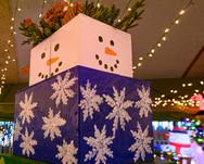 Christmas Wonderland Snowman in Bakersfield, CA