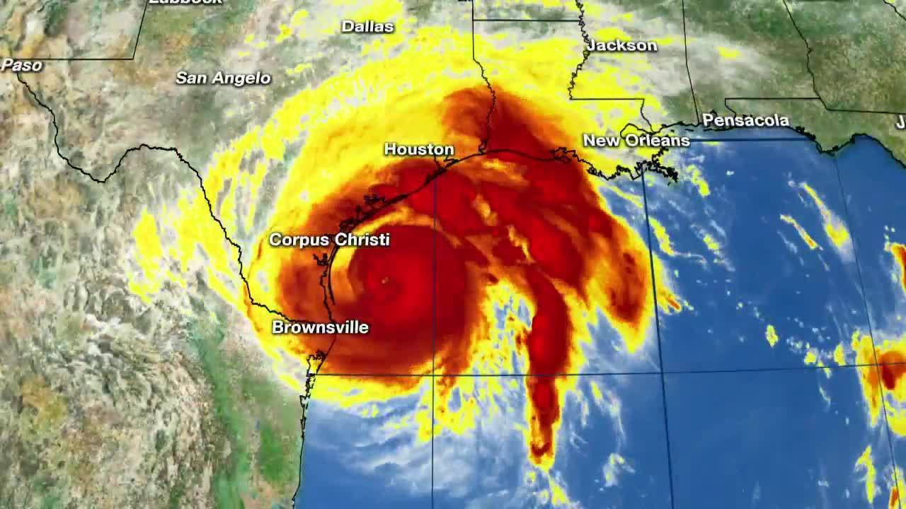 Hurricane Harvey radar off Texas coast_1