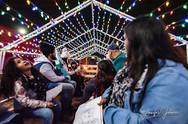 Buddy The Elf Hay Ride at Christmas Wonderland in Bakersfield, CA