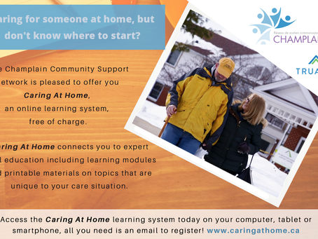 Caring At Home Caregiver E-Learning: Virtual Support for Caregivers