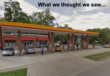 Have You Ever Made a Pit Stop in the Twilight Zone?