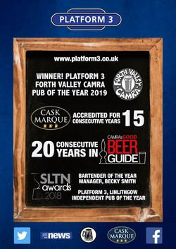 Platform 3 advert 2019