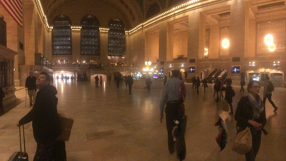 Part of my daily commute, Grand Central either early in the morning or late in the evening...