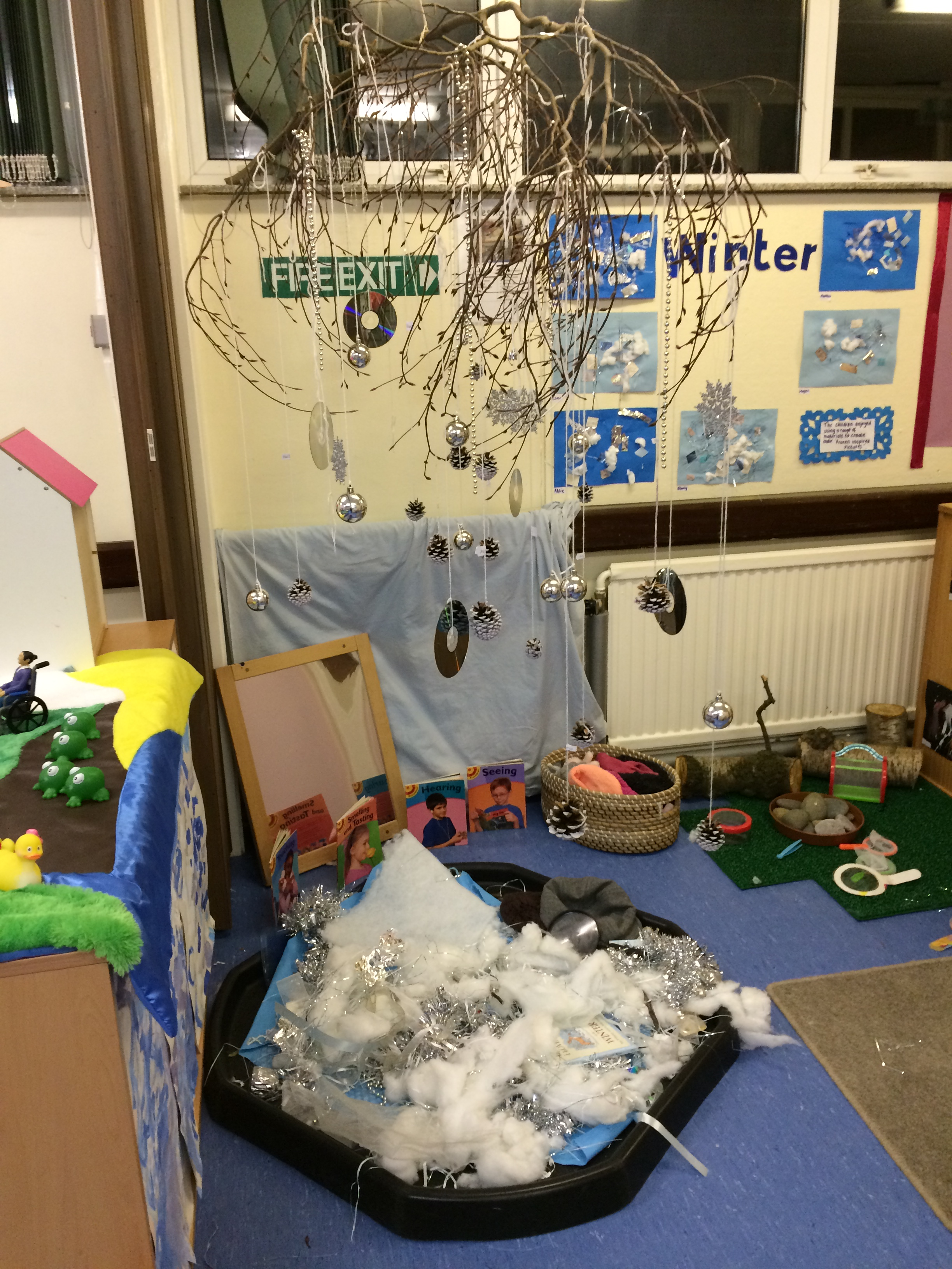 Themed Sensory Area - Winter