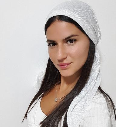 בנדנה לורקס לבן