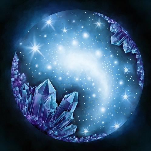 Crystal Cluster Prints