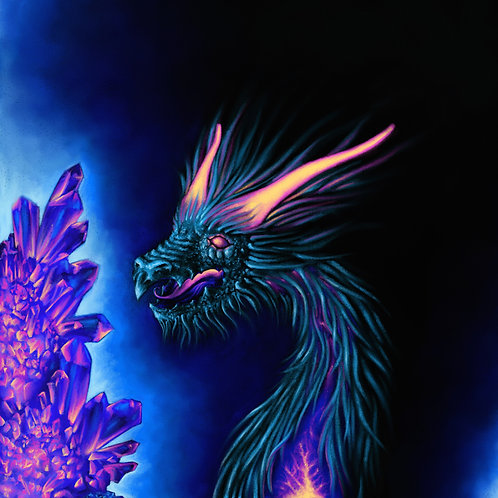 Plasma Dragon Prints