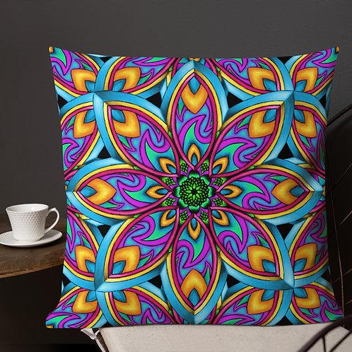 Summer Mandala 22 in Pillow