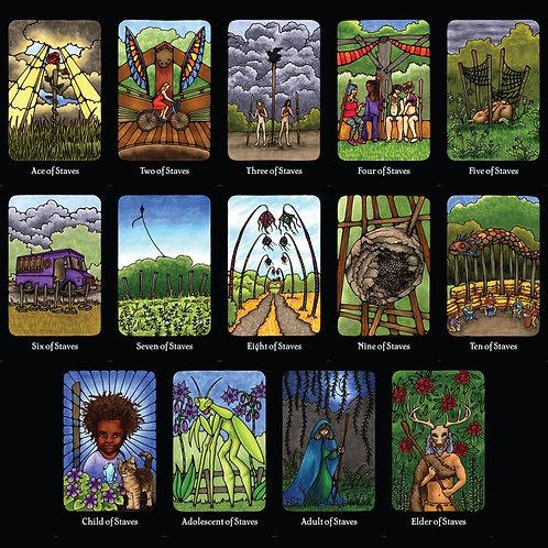 Staves - OCF Tarot Prints