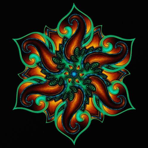 Neon Mandala Prints