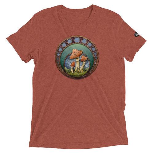 Mushroom short sleeve t-shirt