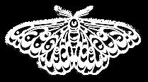 art nouveau moth logo