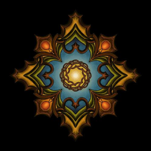 Autumn Mandala Prints