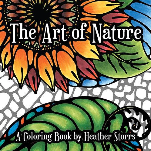 The Art of Nature Digital Coloring Book