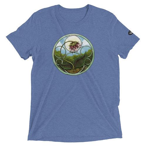 Flower short sleeve t-shirt
