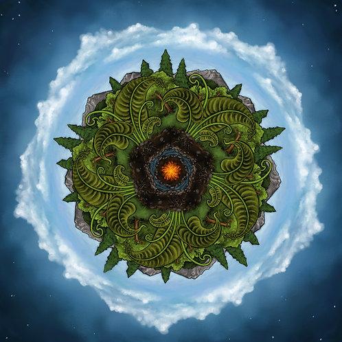 Earth Mandala Prints