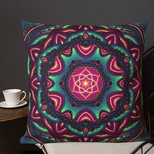 Life Mandala 22 in Pillow