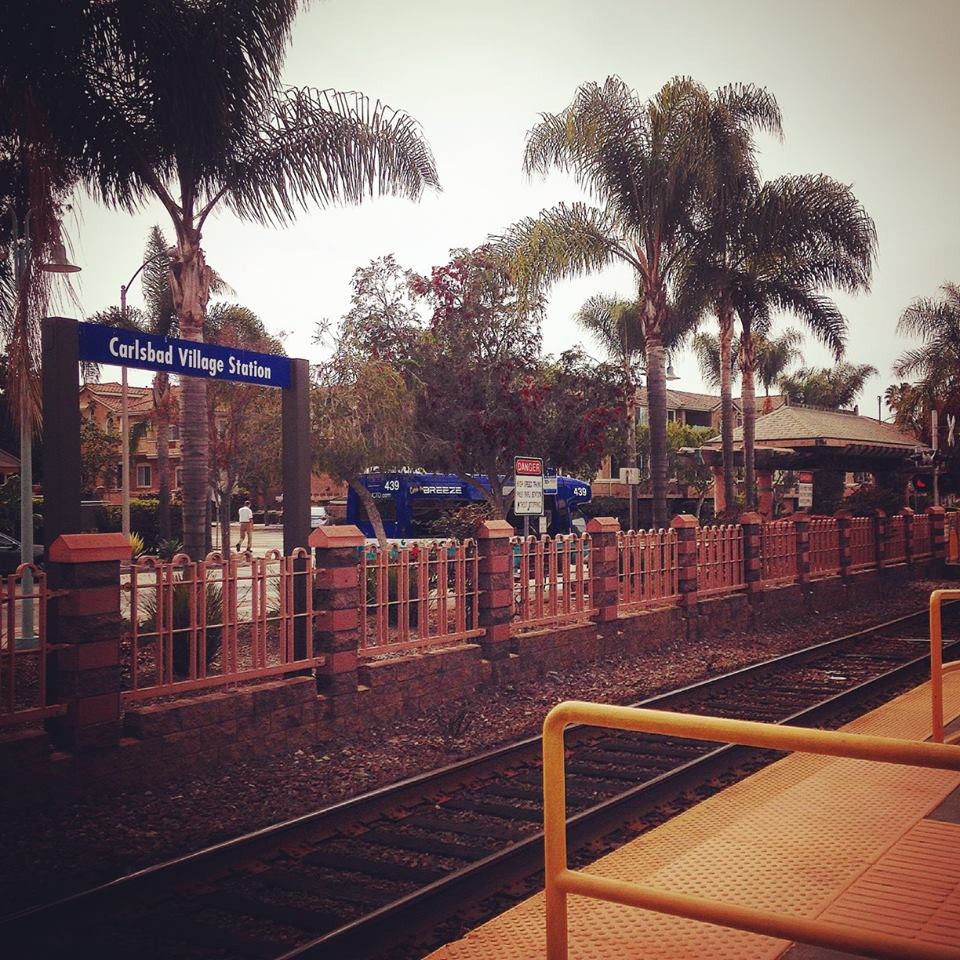 Carlsbad Village Train Station