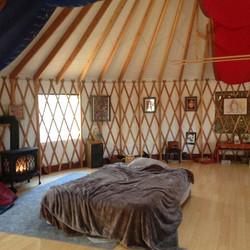 Yurt in Idyllwild Holistic Retreat