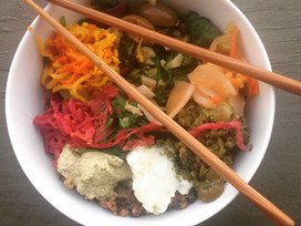 Superfood-packed Quinoa Lentil Power Bowl