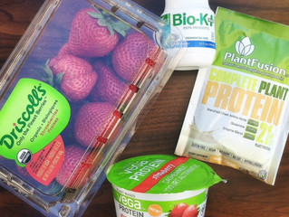 Digestion-Supporting Strawberry Probiotic Smoothie