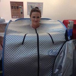 Infrared sauna natural medicine