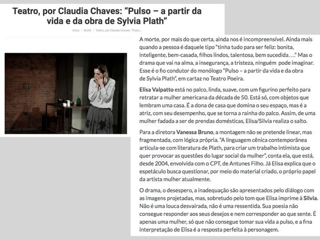 Crítica - Cláudia Chaves