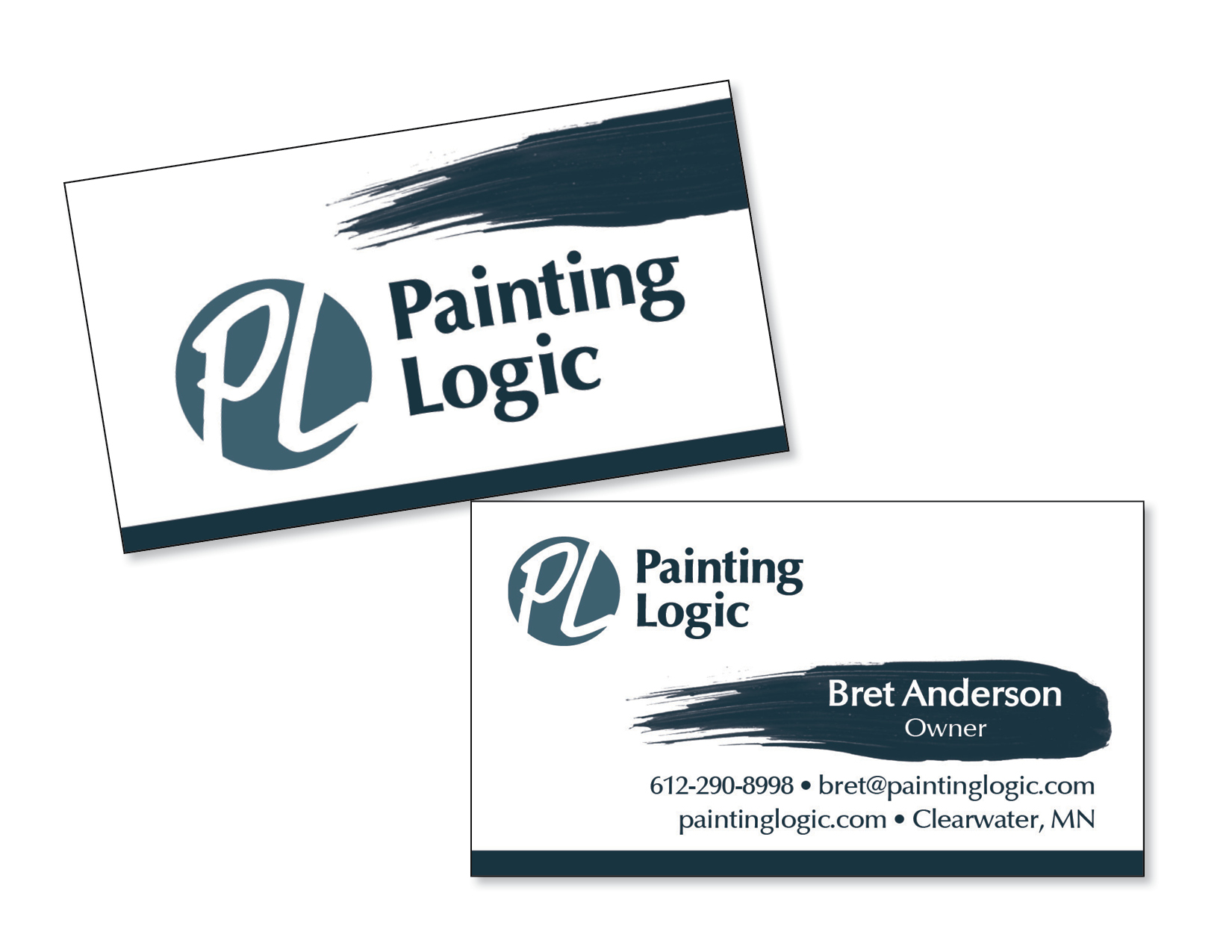Business Cards, Painting Logic