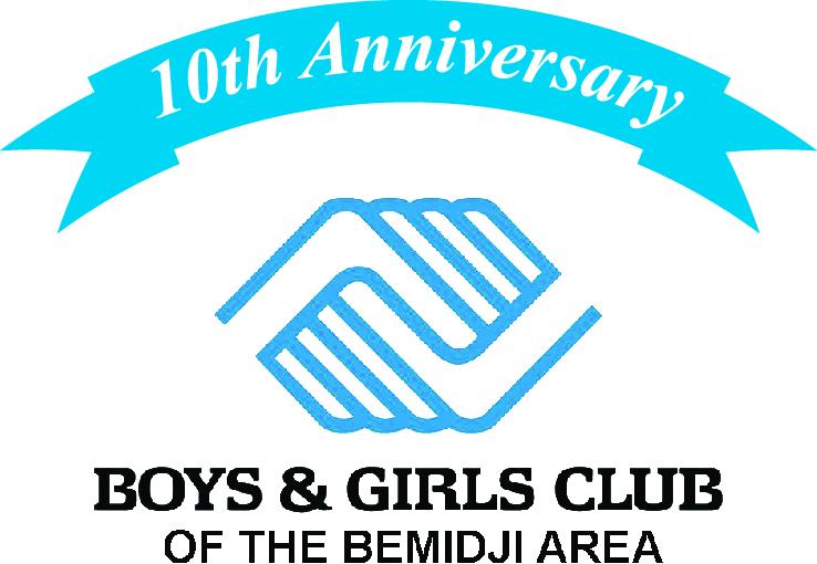 BGCA Bemidji Area Anniversary Logo