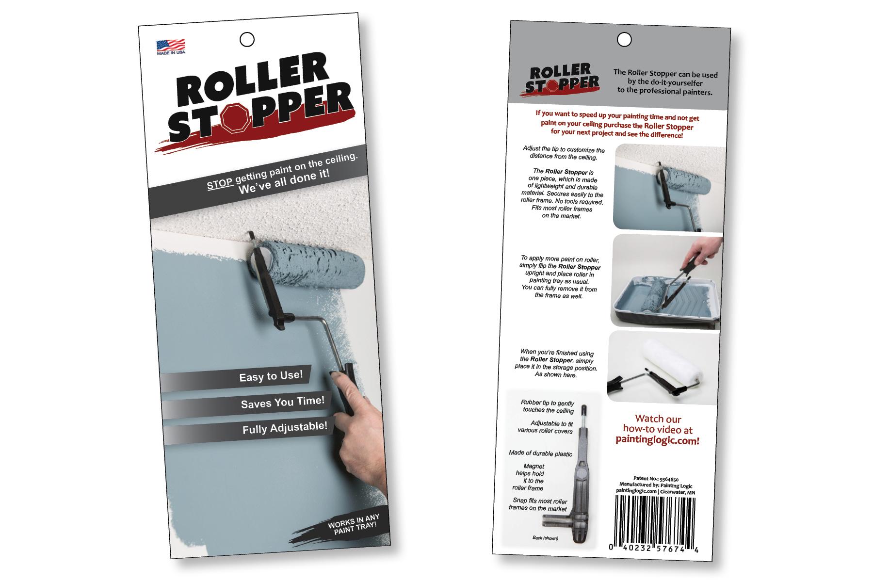 Packaging design- the Roller Stopper