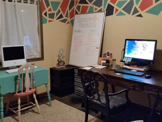Clean Work Space = Clean Mind!