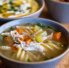 Chicken Noodle Soup (GF/DF)