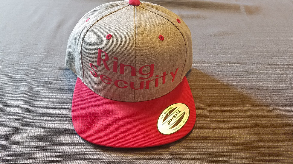 Embroidered Ring Security Hat