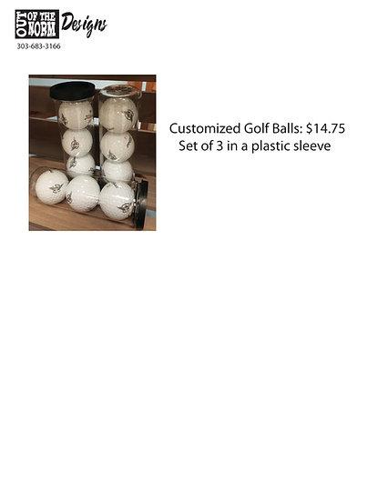 Golf Balls 3 Pack