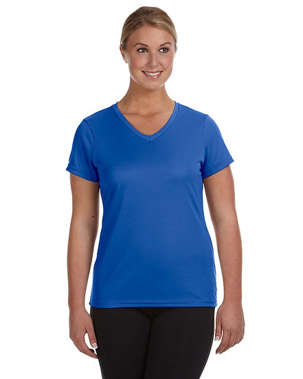 Womens V Neck Performance Shirt