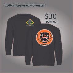3-61 PANTHER COTTON CREWNECK/SWEATER