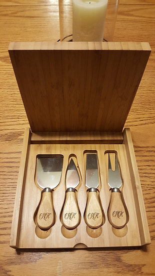 Personalized Cheese Set
