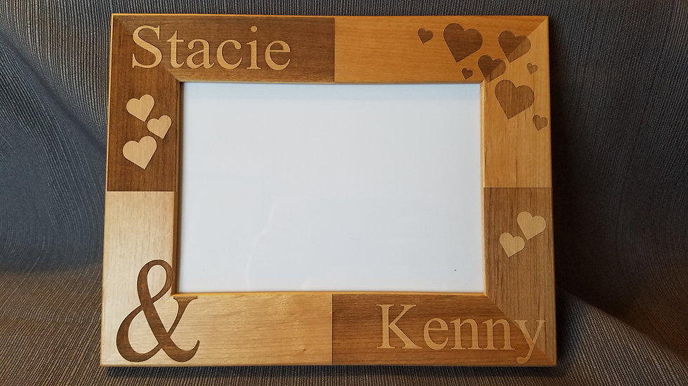 Picture Frame, Personalized Picture Frame,