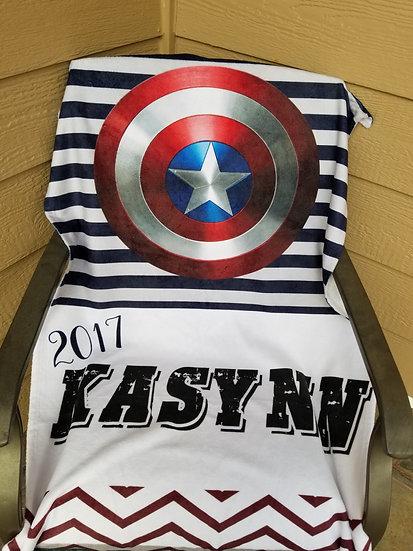 Civil War Inspired Beach Towel
