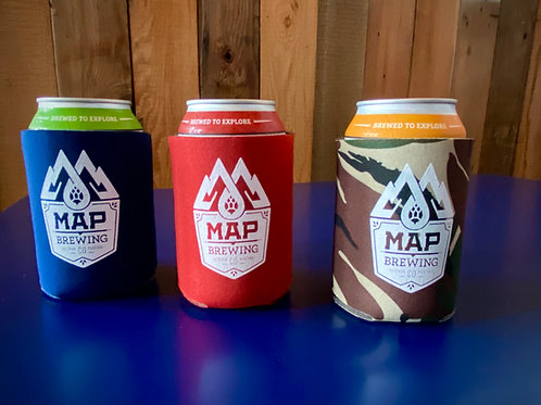 MAP 12 oz Coozie