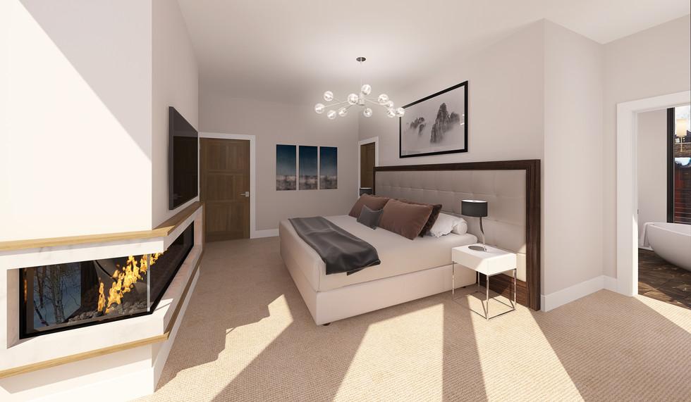 Empire Residences Unit Master Bedroom 03