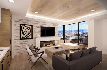 Empire Residences Unit Living Room 01 V8