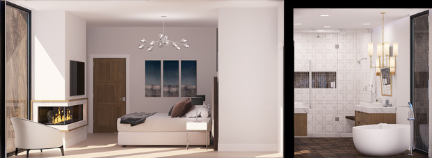 Empire Residences Unit Master Bedroom 02
